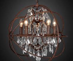 sphere chandelier simpatico orb chandelier rustic