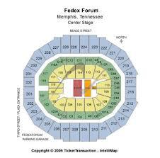 Fedex Forum Memphis Seating Chart Fedexforum Tickets And Fedexforum Seating Chart Buy