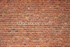 stylish old brick wall mural wallpaper