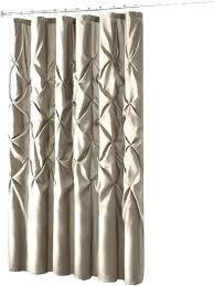 long shower curtain fabric inch white gypsy shabby chic ruffled ruffle 84 rod sh