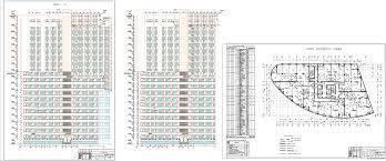 Курсовые и дипломные проекты Многоэтажные жилые дома скачать  Дипломный проект 23 этажный монолитный жилой дом 30 99 м х 58