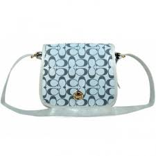 Coach Classic Rambler Legacy In Signature Medium Grey Crossbody Bags BDY