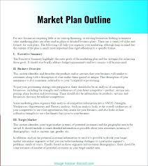 Basic Business Plan Outline Free Basic Marketing Plan Outline Simple Sample Pdf Naveshop Co