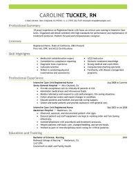 Critical Care Transport Nurse Sample Resume Best Picu Sample Resume Colbroco