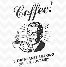 coffee man retro vinyl wall art sticker