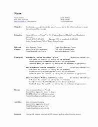 Federal Resume Format Inspirational Resume Samples Careerproplus