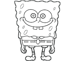 loveable spongebob coloring page a6612 printable coloring pages coloring free printable quoet spongebob squarepants colouring pages