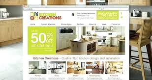 Kitchen Website Design Interior Unique Inspiration Design