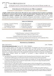 Management Resume Template