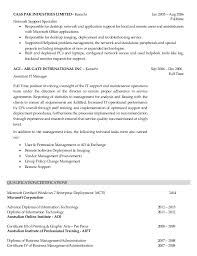 Administration Support Sample Resume Unique It Support Specialist