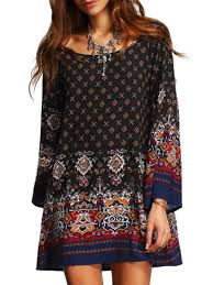 Bohemian Dress Patterns Custom Design