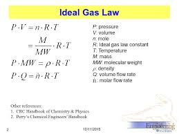 density equation ideal gas. 2 ideal density equation gas i