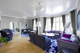 Purple And Gray Living Room Purple And Gray Living Room Ideas House Decor
