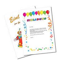 Einladungen Zum Kindergeburtstag Einladung Und