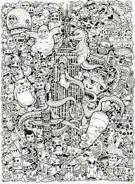 Small Picture Doodle Invasion Google Search Coloring Book Pinterest