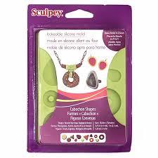 """""""Sculpey"""" Cabochon Shapes <b>форма для изготовления</b> полубусин ..."""