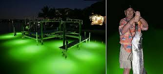 led dock lights boat dock lighting south florida my electrician outdoor boat lighting solutions green color