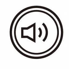 音声マークシルエット イラストの無料ダウンロードサイトシルエットac