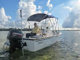 the pole works great on my little whaler but i m not sure any stick it type anchor system would be sufficient for a 21 cc