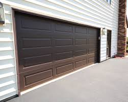 dark brown garage doorsResidential Garage Door Gallery  Sunrise Door  Woodworks Inc