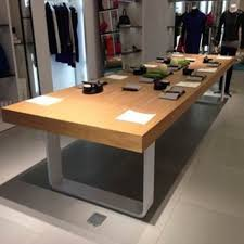 simple wood dining table dinner available retro to do the old long conference desk