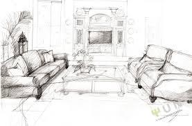 ... Top Interior Designs Sketches With Interior Design Sketches Living Room Interior  Design Sketches