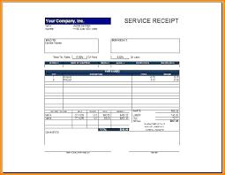 Car Service Receipt Template Service Receipts Receipts Template Child Care Receipt Template Free