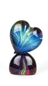 andrea tagliapietra murano submerged chalcedony heart sculpture glass