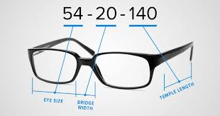 Reading Glasses Size Chart What Do The Numbers On Your Eyeglass Frames Mean