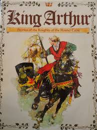 king arthur stories of the knights of the round table by vladimir hulpach