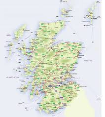 map of scotland printable.  Scotland Roadmap From Scotland In Map Of Printable O