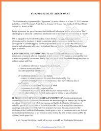 11 Confidentially Statement - Tripevent.co