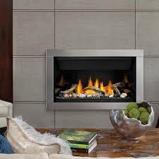 napoleon fireplaces ascent top vent direct vent linear natural gas fireplace