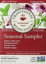 Traditional Medicinals Seasonal Tea Sampler Variety ... - Amazon.com