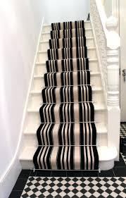 black and white herringbone stair runner rug free runners chevron