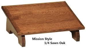 wooden footrest for under a desk