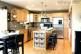 paint kitchen cabinets gray anonymous color tile maple best light grey white cabinet pai