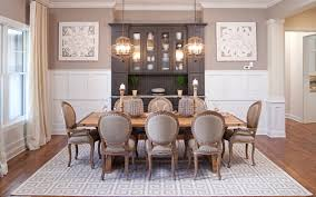 farmhouse dining room. formal farmhouse dining room with white woodwork and rustic table