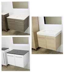 windbay 24 wall mount floating vanity sink