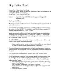 Attachment 8 A Sample Rfp Cover Letter Audit Matters