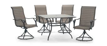 Summerfield ii 5 piece patio dining set by hom furniture