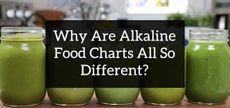 Pral Alkaline Chart Answered Why Are Alkaline Food Lists Different Ross