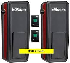 Light Duty Commercial Garage Door Opener Liftmaster 3900 2 Pack Are Side Mounted Garage Door Openers Designed For Light Duty Commercial Sectional Door Applications Only
