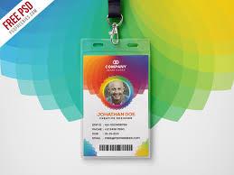 Identity Card Design Corporate Branding Identity Card Free Psd Psdfreebies Com