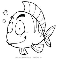 Fish Coloring Book Printable Fish Coloring Pages Puffer Picture For