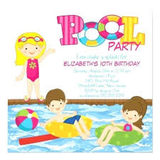 Free Pool Party Invitations Printable Fun Free Printable Birthday Party Invitations Templates
