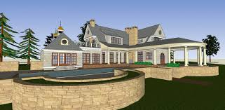 new old house architect house plans traditional home 3d model