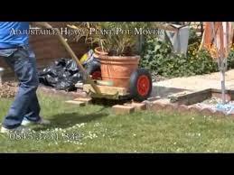 plant pot mover plant pot trolley