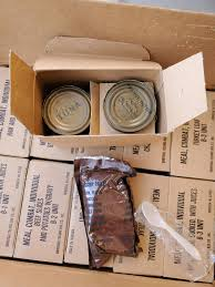 Vintage Meal Combat Individual Sealed New | Foreign and International MREs