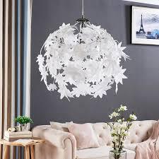 pendant lamp maple with leaf design 9621123 02